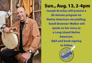 Salut au Monde: Native American Story telling with Joseph Bruchac